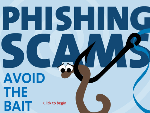 Play the Phishing Scams Game