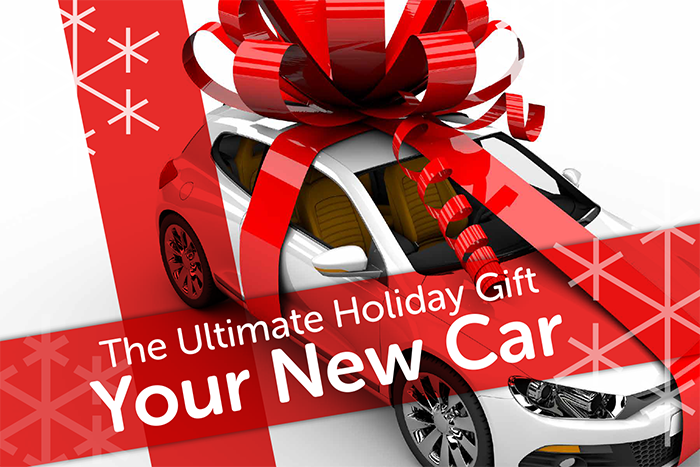 The Ultimate Holiday Gift...A New Car