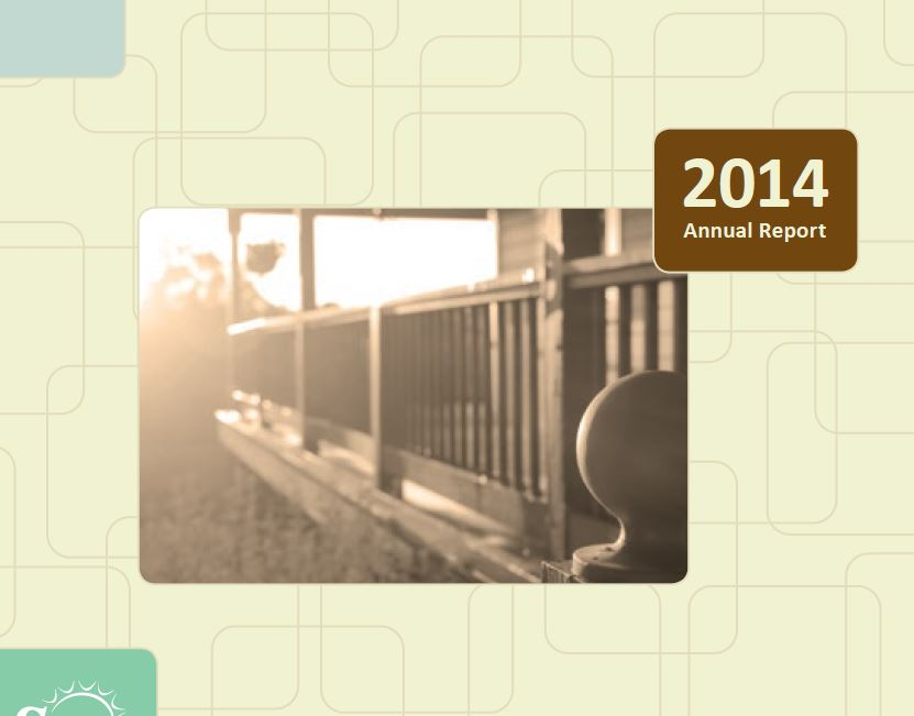 The Front Porch - the 2014 Annual Report