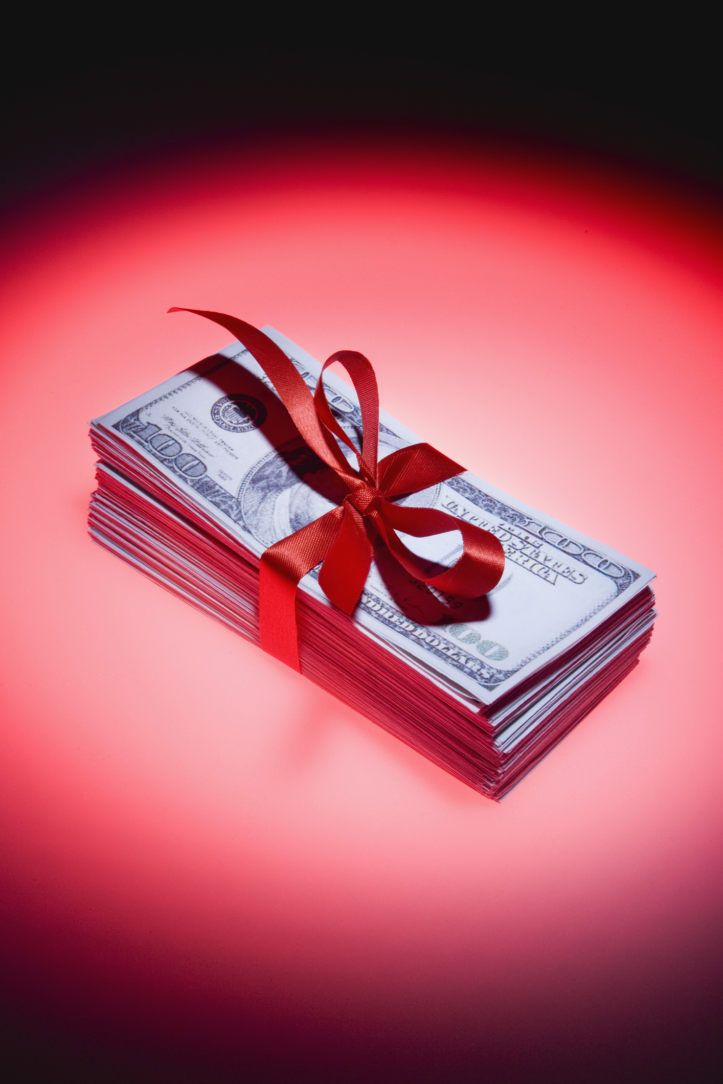 financial gifts can improve well-being