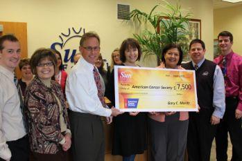 Saving Giving Challenge Charitable Donation