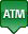 Signifies an ATM location on the map