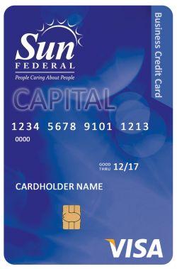 Sun Federal CU Business Visa Credit Card