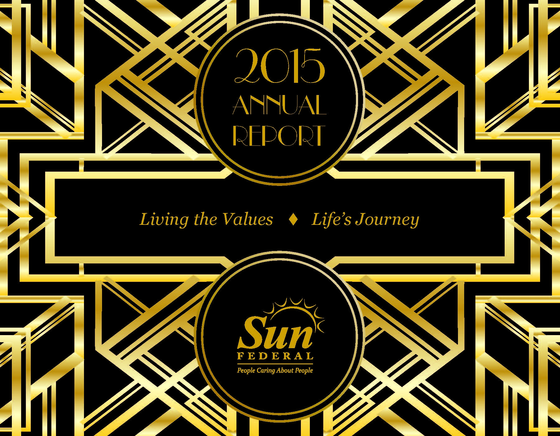 Living the Values. Life's Journey - the 2015 Annual Reprot