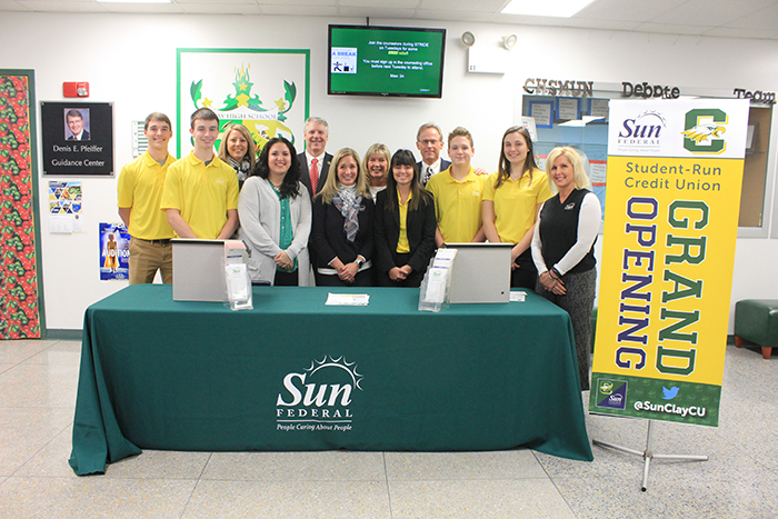 Student Run Credit Union at Clay High School